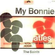 7inch Vinyl Single - The Beatles With Tony Sheridan - My Bonnie - company sleeve