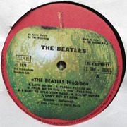 LP - The Beatles - 1962 - 1966, Red Album - DISC TWO MISSING