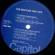 Double LP - The Beatles - 1967 - 1970, Blue Album - US Capitol