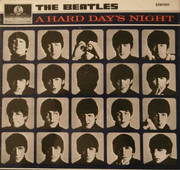 LP - The Beatles - A Hard Day's Night - 3rd Press / Yellow Parlophone