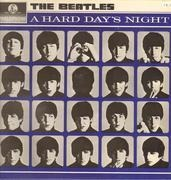 LP - The Beatles - A Hard Day's Night
