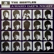 LP - The Beatles - A Hard Day's Night - France