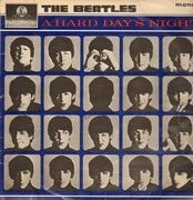 LP - The Beatles - A Hard Day's Night - Ernest J. Day sleeve