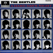 LP - The Beatles - A Hard Day's Night - Variation B