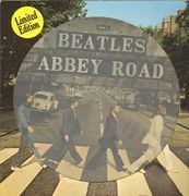 Picture LP - The Beatles - Abbey Road - PICTURE DISC