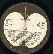 LP - The Beatles - Abbey Road - UK
