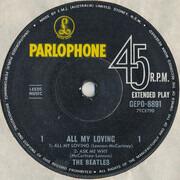 7inch Vinyl Single - The Beatles - All My Loving