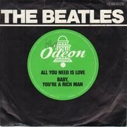 7inch Vinyl Single - The Beatles - All You Need Is Love / Baby You're A Rich Man