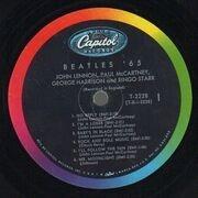 LP - The Beatles - Beatles '65 - Original 1st US Mono Rainbow Rim