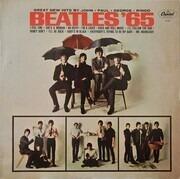 LP - The Beatles - Beatles '65 - Purple label
