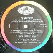 LP - The Beatles - Beatles '65 - 80s rainbow label,SRC