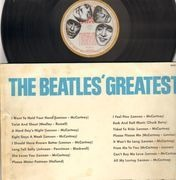 LP - The Beatles - Beatles' Greatest - RED + GOLD ODEON