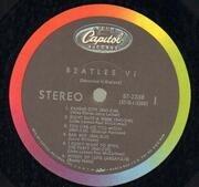 LP - The Beatles - Beatles VI - RAINBOW CAPITOL