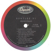 LP - The Beatles - Beatles VI - US MONO