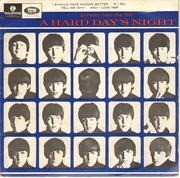 7inch Vinyl Single - The Beatles - Extracts From The Film A Hard Day's Night - Original Australian EP