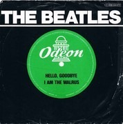 7inch Vinyl Single - The Beatles - Hello, Goodbye / I Am The Walrus