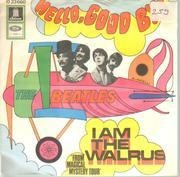 7inch Vinyl Single - The Beatles - Hello, Goodbye / I Am The Walrus - picture sleeve, original 1st german