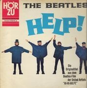 LP - The Beatles - Help! - original 1st german