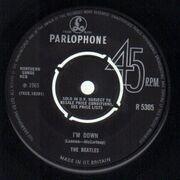 7'' - The Beatles - Help! - original 1st UK, company sleeve