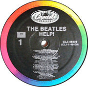 LP - The Beatles - Help! - Rainbow label USA