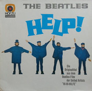 LP - The Beatles - Help! - circle