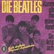 7inch Vinyl Single - The Beatles - Komm Gib Mir Deine Hand / Sie Liebt Dich - Original German
