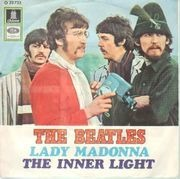 7'' - The Beatles - Lady Madonna / The Inner Light - picture sleeve