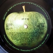 LP - The Beatles - Let It Be - Red Apple 2U UK