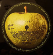 LP - The Beatles - Let It Be - UK