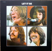 LP - The Beatles - Let It Be - France 1978
