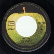 7'' - The Beatles - Let It Be
