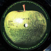 LP - The Beatles - Let It Be - Sweden