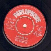 7inch Vinyl Single - The Beatles - Love Me Do