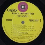 LP - The Beatles - Magical Mystery Tour - US Green Capitol