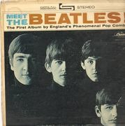 LP - The Beatles - Meet The Beatles!