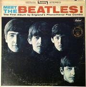 LP - The Beatles - Meet The Beatles! - Winchester Pressing