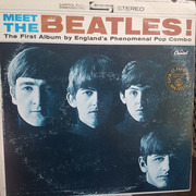 LP - The Beatles - Meet The Beatles! - Winchester Pressing