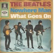 7'' - The Beatles - Nowhere Man - 7'' ads on back