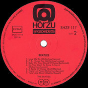 LP - The Beatles - Please Please Me Und Andere Knüller - Hörzu