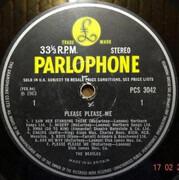 LP - The Beatles - Please Please Me - Black & Yellow Label