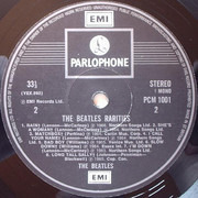 LP - The Beatles - Rarities - UK