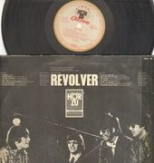 LP - The Beatles - Revolver - Original 1st German
