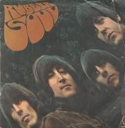 LP - The Beatles - Rubber Soul - Original 1st German. 'Alle Rechte' Rim Text