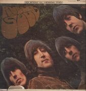LP - The Beatles - Rubber Soul - Original US Rainbow Rim
