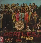 LP - The Beatles - Sgt. Pepper's Lonely Hearts Club Band - RARE EX LIBRIS