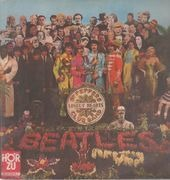 LP - The Beatles - Sgt. Pepper's Lonely Hearts Club Band - RED GOLDEN LABEL