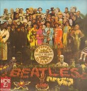 LP - The Beatles - Sgt. Pepper's Lonely Hearts Club Band - Red/Gold ODEON