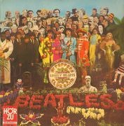 LP - The Beatles - Sgt. Pepper's Lonely Hearts Club Band - Red/Gold ODEON / no insert