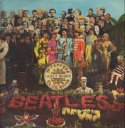 LP - The Beatles - Sgt. Pepper's Lonely Hearts Club Band - WITH CUTOUT INSERT