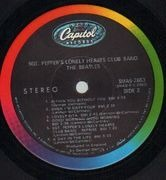 LP - The Beatles - Sgt. Pepper's Lonely Hearts Club Band - US COLOURBAND LABELS